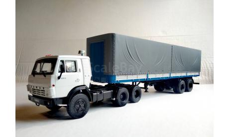 КамАЗ-54112 НЕ ЭЛЕКОН + Маз-93971, масштабная модель, Автоистория (АИСТ), scale43