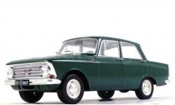 Москвич 408, 1/24, масштабная модель, Hachette, scale24