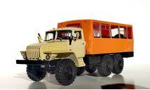 Вахтовый автобус НЕФАЗ-42112 (4320), кабина бежевая, масштабная модель, УРАЛ, Конверсии мастеров-одиночек, scale43