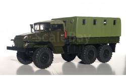 УРАЛ-375 тентованная кабина с тентом