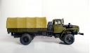 НЕ ЭЛЕКОН, УРАЛ-43206-41 РАМА и КАБИНА МЕТАЛЛ, с тентом, масштабная модель, Конверсии мастеров-одиночек, scale43