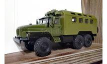 К4320 ДЛИННЫЙ НОС (шасси 4320-31), масштабная модель, Конверсии мастеров-одиночек, scale43, УРАЛ