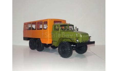 Вахтовый автобус НЕФАЗ-42112 (4320), кабина хаки, вариант 2, масштабная модель, УРАЛ, Конверсии мастеров-одиночек, scale43