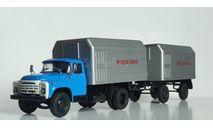 Автопоезд в составе Прицеп ЛуМЗ-853Б + ЛуМЗ-890Б, масштабная модель, Конверсии мастеров-одиночек, scale43