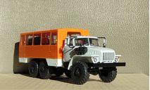 НЕФАЗ-42112 (4320), кабина светло-серая, белые короба, масштабная модель, Конверсии мастеров-одиночек, scale43, УРАЛ