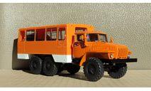 НЕФАЗ-42112 (4320), кабина оранжевая, белые короба, масштабная модель, Конверсии мастеров-одиночек, scale43, УРАЛ