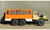 НЕФАЗ-42112 (4320), кабина бежевая, белые короба, масштабная модель, Конверсии мастеров-одиночек, scale43, УРАЛ