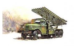 БМ-13 'Катюша', сборная модель автомобиля, 1:35, 1/35, Звезда, ЗиС-151