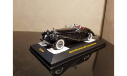 MERCEDES 540K Black with Red interiors 1936, IXO Museum 1:43 MUS001