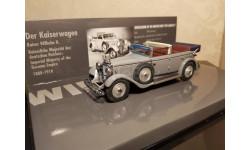 Mercedes Benz 770K Cabriolet F Kaiser Wilhelm II, Minichamps 1:43