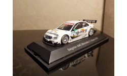 MERCEDES C CLASS #5 GREEN TEAM AMG DTM 2007 1/43 MINICHAMPS (нет картона)
