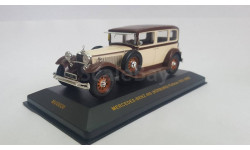 MERCEDES-BENZ 460 NÜRBURG Pullman (W08) Beige and Brown 1931 г. IXO, 1/43