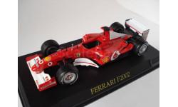 1/43 F1 Ferrari 2002, масштабная модель, 1:43