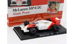 McLaren MP4/2C №1...1986 (Alain Prost) 1/43, масштабная модель, 1:43