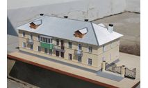 Двухэтажный жилой дом проекта 1-233, элементы для диорам