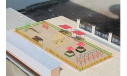 Детская площадка, элементы для диорам