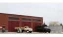 Фасад гаража АТП., элементы для диорам