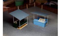 Палатка №3 (с лавкой), элементы для диорам