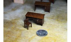 Стол+стул, элементы для диорам