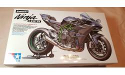 Сборная модель Tamiya Kawasaki ninja h2r 1/12, сборная модель мотоцикла, scale12