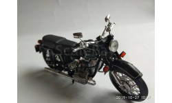 Днепр MT10-36 мотоцикл (1976), масштабная модель мотоцикла, Atlas, 1:24, 1/24