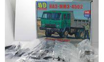 Сборная модель КАЗ-4502    (KIT) AVD Models KIT, сборная модель автомобиля, scale43