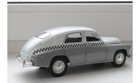 газ м20 такси, масштабная модель, Hachette, 1:24, 1/24