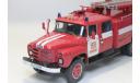 зил 133 пожарный, масштабная модель, 1:43, 1/43
