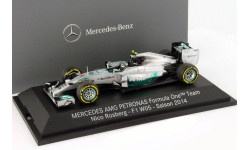 F1 Minichamps vice champion 2014 Rosberg Mercedes 1-43