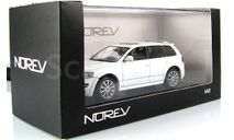 Volkswagen Touareg Norev R50 белый 1-43, масштабная модель, 1:43, 1/43