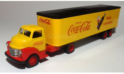 Cola 1950 cab and trailer bank 1-43 ERTL, масштабная модель, 1:43, 1/43, ERTL (Auto World)