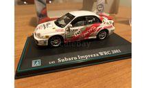 Cararama Subaru Impreza Rally 147 серия Elite в боксе 1-43 (лот в мск), масштабная модель, 1:43, 1/43, Bauer/Cararama/Hongwell