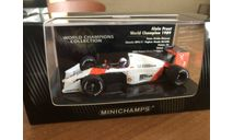 Minichamps F1 чемпион WCC serie 1989 McLaren Prost 1-43 (лот в мск), масштабная модель, scale43