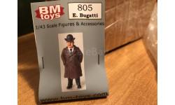 Фигурка BM_Toys Эторе Бугатти 1-43 (лот в мск), фигурка, 1:43, 1/43, Bugatti