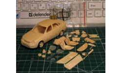 Лада Приора, масштабная модель, Gorky Models, scale43, ВАЗ