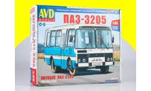 ПАЗ 3205 AVD Models, сборная модель автомобиля, scale43