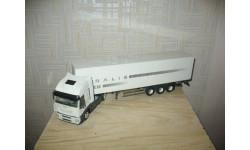 IVECO STRALIS АВТОПОЕЗД Масштабная модель 1/43, масштабная модель, Eligor, scale43