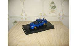 SUBARU WRX STI 2001 (BLUE) Масштабная модель 1/43, масштабная модель, Autoart, 1:43