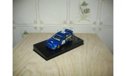 SUBARU WRX STI RALLY MONTE CARLO №5 2001 (BLUE) Масштабная модель 1/43, масштабная модель, Autoart, scale43