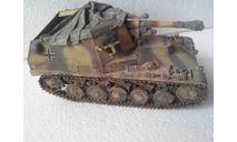 "Модель 1/35 самоходной установки Sd.Kfz.124 ""Wespe"", масштабные модели бронетехники, Tamiya, scale35"