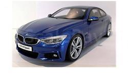 BMW M435i синий GT Spirit 1:18
