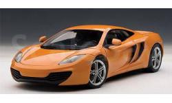 McLaren MP4/12 оранжевый AUTOArt 1:18