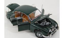 Jaguar Mk.II 1962 зелёный Model Icons 1:18, масштабная модель, Model-Icons, scale18
