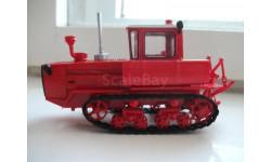 ВГтЗ ДТ-175 ВОЛГАРЬ, масштабная модель трактора, scale43, Тракторы. История, люди, машины. (Hachette collections)