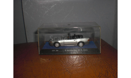 Mercedes-Benz kabrio 1:43, масштабная модель, 1/43