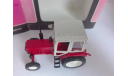 Модель Трактора Беларусь МТЗ-82, красный цвет, металл, коробка, сделано в СССР, масштаб 1.43 С124, масштабная модель, Агат/Моссар/Тантал, scale43