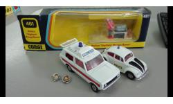 Corgi 461 Police Vigilant Range Rover+373 Volkswagen 1200 Police car набор М078