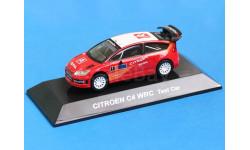 Citroen C4 WRC 2007 Test Car 1/64 CM's, масштабная модель, 1:64