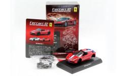 Ferrari 458 Speciale A Kyosho 1/64 Red, масштабная модель, 1:64