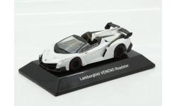 Lamborghini Veneno 2016 Roadster White F-Toys 1/64, масштабная модель, scale64